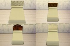 HEADBOARDS at Leo Sims via Sims 4 Updates