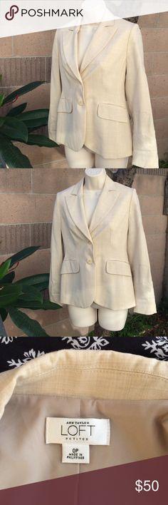 Ann Taylor Loft blazer Ann Taylor Loft Petites blazer. Size 0P. Ann Taylor Jackets & Coats Blazers