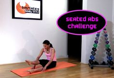 FREE Barre Style Abs Workout - Seated Abs Challenge BARLATES BODY BLITZ