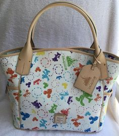 NEW!! Disney Dooney and Bourke Hong Kong 10th Anniversary Kristen bag...wonder how I get my hands on his one