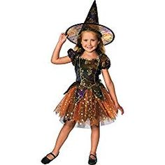 Elegant Witch Girl's Costume. Choose this fun polyester Elegant Witch Girl's Costume and be ready to trick-or-treat, enter a costume conte. Witch Fancy Dress, Witch Dress, Halloween Fancy Dress, Toddler Witch Costumes, Halloween Costumes For Girls, Girl Costumes, Little Girl Witch Costume, Animal Costumes, Group Costumes