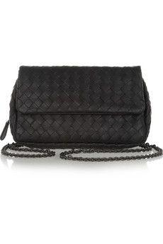 Bottega Veneta Intrecciato leather shoulder bag | NET-A-PORTER