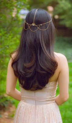 Hair jewellery for bridesmaids. L'Oreal Advanced Hairstyles