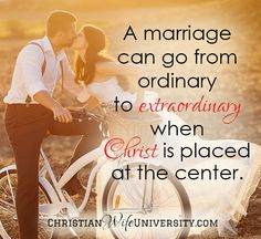 Learn how to place Christ at the center of marriage.