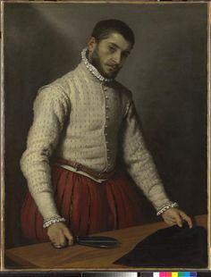 Le tailleur ( Il tagliapanni).  Giambattista Moroni Giambattist, 1862.