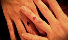 Tattoo- perfect for a Vegas Tattoo( I like Queen of Diamonds & King of Hearts)