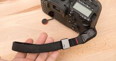 There's a very short list of things that every single photographer should definitely have for their camera, but a camera strap is on that list! Nikon Camera Tips, Leica Camera, Camera Hacks, Camera Nikon, Camera Gear, Canon Cameras, Canon Lens, Film Camera, Best Camera Strap