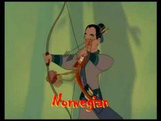 Mulan: I'll Make a Man Out of You (multilanguage)