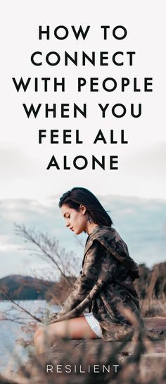 There are times when we feel that even if we are surrounded by other people in our lives, we are alone. We must go through this difficult journey called life by ourselves, no matter if we're married or if we have children or close friends. And that's a very lonesome prospect. Here's how to connect with humanity when you feel all alone. #feelalone #alone #lonely #connectwithpeople #connectwithhumanity