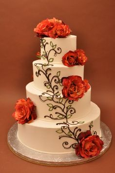 Bethel Bakery Wedding Cake - Rosalina