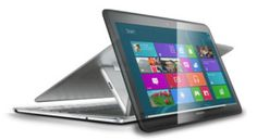 Samsung ATIV Q, a hybrid laptop / tablet 13 inch that runs Windows 8 and Android 4.2