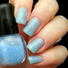 BeginNails: Every Journey Has a Beginning: Vixen Lacquer Swatches and Review.  April Showers swatched by @Beginnails (Kristi)