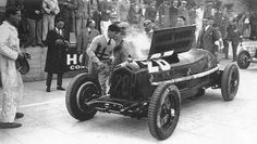 GP Monaco 1933 , Alfa Romeo Monza #28 , Driver Tazio Nuvolari