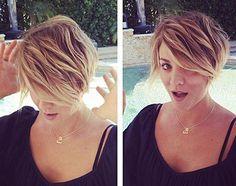 Capelli delle star: esigenze lavorative o piacere personale? http://buff.ly/1xaVxKq #benessere #skincare #beauty Gisele #hair kaley cuoco