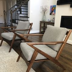 Artfully made and eye-catching, this iconic wooden chair will command attention and complement a variety of interior design styles all at once. Chair Design Wooden, Sofa Design, Interior Design, Living Room Chairs, Living Room Decor, Furniture Decor, Furniture Design, Plywood Furniture, Modern Furniture