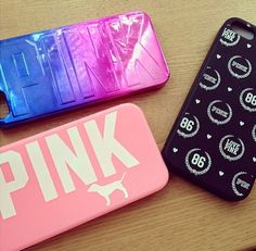 Pink cases!!