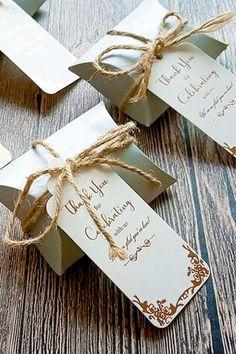 1 18 x  2 Favor Tag Autumn Wedding Souvenir Keepsake party favor Fall in Love my SMALL tag
