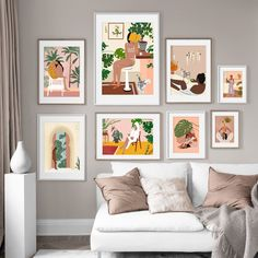 Vintage Wall Art, Vintage Walls, Vintage Posters, Canvas Art Prints, Canvas Wall Art, Images Murales, Nordic Art, Canvas Home, Living Room Pictures