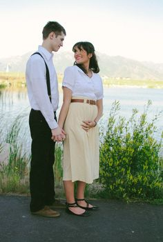 Pregnancy announcement pictures taken by our dear friend <3
