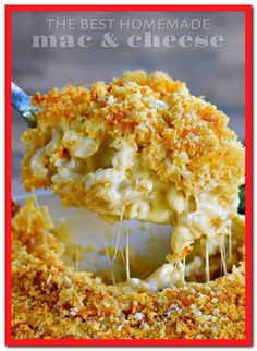 The Best Homemade Baked Mac And Cheese With Elbow Macaroni Extra Virgin Olive Oil Butter All Purpose Flour Whole Milk Heavy Whipping Cream Sharp Cheddar Cheese Gruyere Cheese Salt Pepper Panko Crumbs Butter Parmesan Cheese Smoked Paprika Best Mac N Cheese Recipe, Homemade Cheese Sauce, Macaroni Cheese Recipes, Mac Recipe, Best Macaroni And Cheese, Macaroni And Cheese Casserole, Homemade Mac And Cheese Recipe Easy, Homemade Macaroni Cheese, Southern Mac N Cheese Recipe