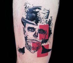 Zombie Boy tattoo by Ilaria Tattoo Art