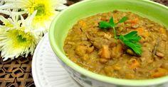 Receita: Sopa de lentilha - EscolhaVeg.com.br
