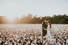 Wedding Photo at Cotton Farm in Collins, Mississippi