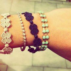 sweet hand made bracelets
