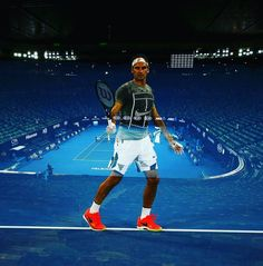 The Boss in Melbourne! Just couple of days Left   #tennis #atp #Atpworldtour #1 #FEDERER #RF #perfect #art #special #photooftheday #love #fun #sun #hot #training #page #maestro #magic #inspiration  #motivation #gym #workout  #beast #insta #instagood #best #ultimate #followforfollow ✌