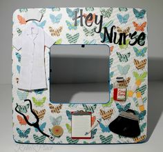 Nurse Picture Frame by RebelsPlace on Etsy