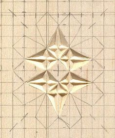 graphing a chip carving pattern