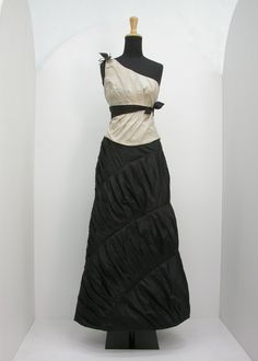 Check out the deal on Silk taffeta draped dress at Eco First Art