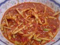Resep Masakan Nusantara: RESEP SAMBAL MANGGA Sambal Sauce, Shrimp Paste, Indonesian Food, Rice Vinegar, Fish Sauce, Gravy, Cabbage, Food And Drink, Yummy Food