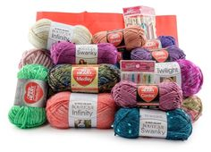 Red Heart Dream Yarn Prize Package