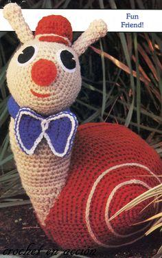 Crochet En Acción: Sammy el caracol