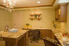 Timeless Revival - traditional - home office - other metro - Shane D. Inman (lots of counter space)