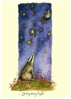 IF22 - Starry Starry Night - A Two Bad Mice card by Fran Evans
