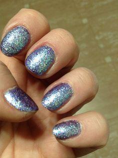 Glitter nails by JKluvsGlitter, VIB. #Sephora #sephoranailspotting