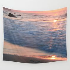 Nature Tapestry Beach Tapestry Ocean Tapestry by CallaAndClover