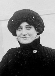 Raymonde de Laroche (22 August 1882 – 18 July 1919), born Elise Raymonde Deroche, was a French aviatrix and the first woman in the world to receive an aeroplane pilot's licence.