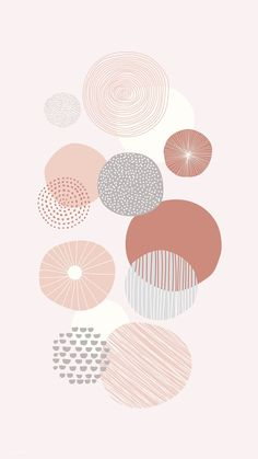 Pretty in Pastels: Fresh, Modern + Organic Wedding Inspiration in Los Angeles - Green Wedding Shoes Doodle Background, Iphone Background Wallpaper, Pastel Wallpaper, Aesthetic Iphone Wallpaper, Aesthetic Wallpapers, Background Patterns, Iphone Background Vintage, Sun Background, Geometric Patterns