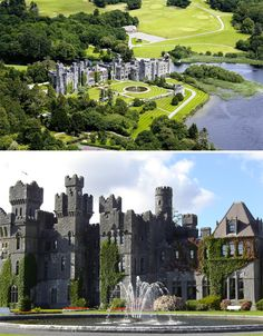 Ireland's oldest castle, Ashford Castle dates back to 1228 and is the very definition of a medieval fortress, complete with towering turrets. Once owned by the Guinness family, it opened as a hotel in 1939 with its original features carefully restored. It's also the home of Ireland's first school of falconry.