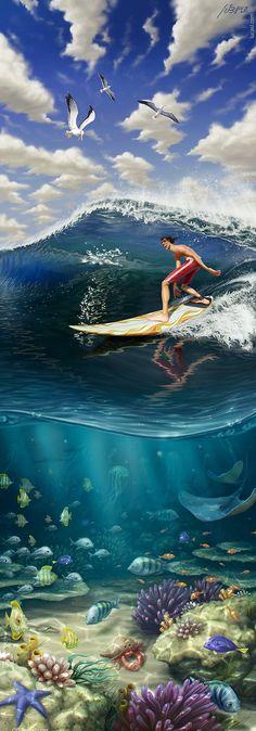 Increíbles imagenes de arte digital por Lucas Leibholz