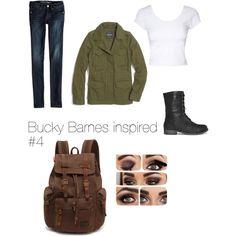 Bucky Barnes inspired