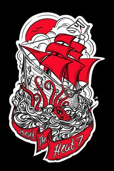 Poster and t-shirt design for SportRock by The Graphix Chick , via Behance