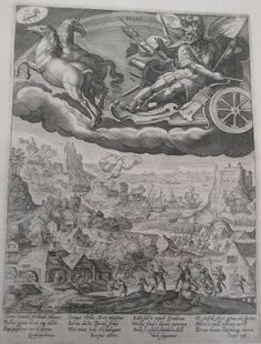 Mars 1600 Crispijn de Passe after Marten de Vos