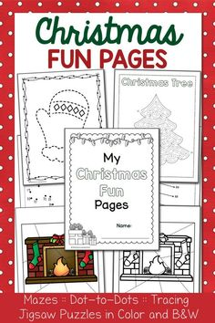 Christmas Fun Pages Packet Christmas Word Search, Christmas Words, Christmas Fun, Printable Coloring Pages, Coloring Pages For Kids, Coloring Books, Preschool Activities At Home, Hands On Activities, Christmas Worksheets