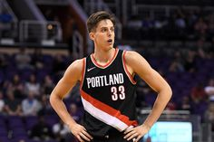Zach Collins Rides to the Rescue as Blazers Down Thunder - Blazer's Edge Gonzaga Basketball, Western Conference, Portland Trailblazers, Nba Playoffs, Trail Blazers, Man Candy, Thunder, Role Models, Schedule