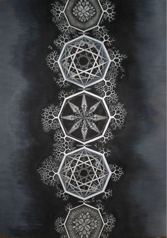 Sacred Geometry Fractal Awakening / Sacred Geometry <3