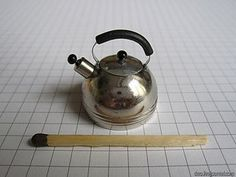 How to make mini tea pot (I appreciate the matchstick for perspective...cute)